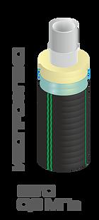 Труба ИЗОПРОФЛЕКС 25/63 мм