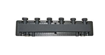 BARBERI Стальной распределительный коллектор 3 отопительных контура с гидравлическим разделителем. В теплоизоляции
