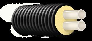 Труба ТВЭЛ-ПЭКС-2, 6 бар, 2x20x1,9/110 мм