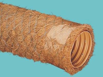 ? 90 мм Труба дренажная гофрированная в фильтре кокосовая койра