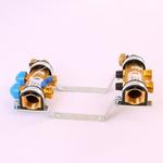 """Коллекторная группа HKV с регулировочными и термостатическими вентилями WATTS 1""""x3/4""""ЕК 2 выхода"""