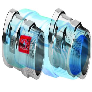 Муфта пресс-Н 64 оцинкованная сталь Prestabo XL  VIEGA 64х2'