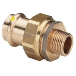 Муфта разъемная пресс-Н плоская прокладка бронза Profipress G  VIEGA 15x1/2'