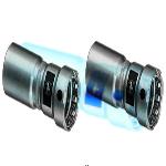 Муфта-вставка пресс Megapress оцинкованная сталь VIEGA 1'1/2x1'1/4
