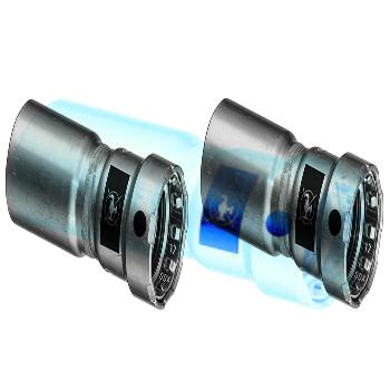 Муфта-вставка пресс Megapress оцинкованная сталь VIEGA 1'1/4x1'
