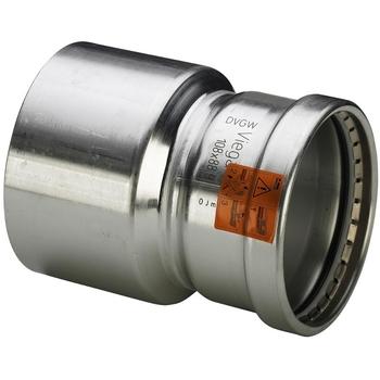 Муфта-вставка пресс нержавеющая сталь Sanpress Inox VIEGA 76х64