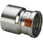 Муфта-вставка пресс нержавеющая сталь Sanpress Inox VIEGA 89x64