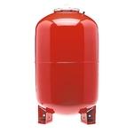 """Расширительный бак красный MAG-H для отопления присоединение 1"""" WATTS Ind 80л"""
