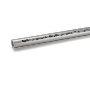 Труба полиэтиленовая с кислородным барьером PE-Xa/EVAL RAUTITAN flex REHAU 20х2,8 бухта 100м