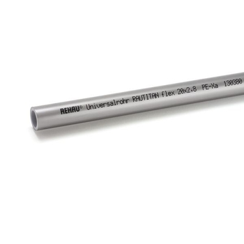 Труба полиэтиленовая с кислородным барьером PE-Xa/EVAL RAUTITAN flex REHAU 32х4,4 бухта 50м