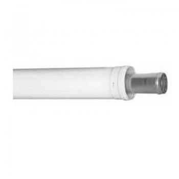 Удлинитель коаксиального дымоотвода для котлов BAXI, D=60/100, длина 500 мм
