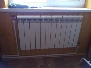 Монтаж секционных радиаторов отопления