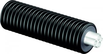 Труба Uponor (Ecoflex) Quattro Midi 2x25/25+20/140