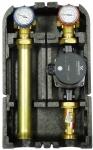 """BARBERI Насосная группа с прямым контуром 1"""" с насосом Grundfos ALPHA2L 25-60 в теплоизоляции"""