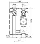 """Vaillant Насосная группа для смесительного контура отопления со смесителем R 3/4 """",3-х ст. насос"""