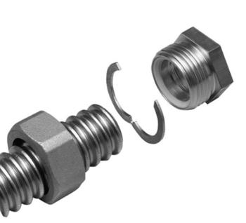 "Meibes Комплект концевого фитинга для подключения трубы Inoflex DN40, 11/2"", Внутренняя резьба"