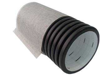 ? 110 мм Труба дренажная 2-х слойная в фильтре геотекстиль
