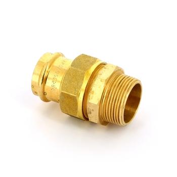 Муфта пресс-Н IBP 35 х 1 1/4' с разъемным соединением бронза