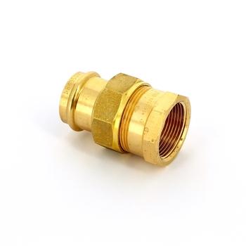 Муфта пресс-В IBP 35 х 1 1/4' с разъемным соединением бронза